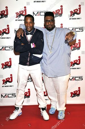 Joe (L) and American singer-songwriter, DJ, and rapper, Big Ali
