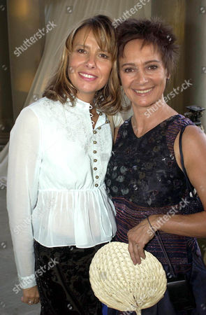 GISELA GETTY AND FRANCESSCA ANNIS