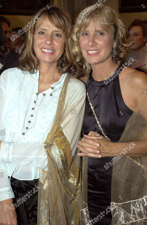 GISELA GETTY WITH TWIN SISTER