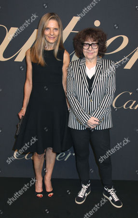 Stock Photo of Sandra Brant and Ingrid Sischy