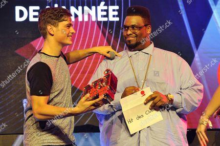 Editorial photo of NRJ DJ Awards show, Monaco, France - 12 Nov 2014