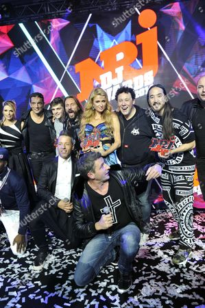 Editorial image of NRJ DJ Awards show, Monaco, France - 12 Nov 2014