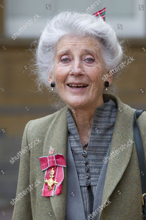 Stock Photo of Miss Phyllida Law OBE. For services to Drama and for charitable services.