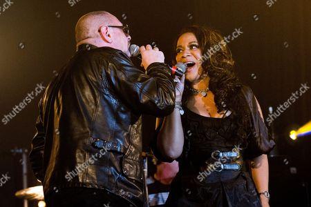 Shaun Ryder and Rowetta Idah