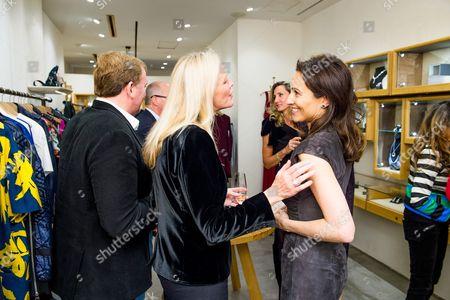 Marc Farah, Emma Farah and Lady Dalit Nuttall