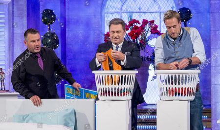 Andy Collins, Alan Titchmarsh and Ben Fogle