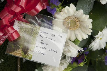 Editorial image of Funeral of jazz musician Acker Bilk, Pensford, Britain - 13 Nov 2014