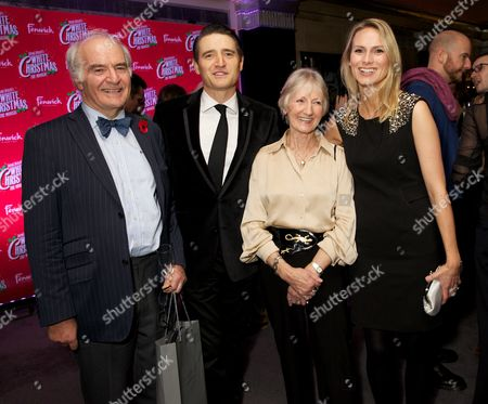 Stuart & Rosemay (Tom Chambers' parents) with Tom Chambers & Clare Harding (wife)