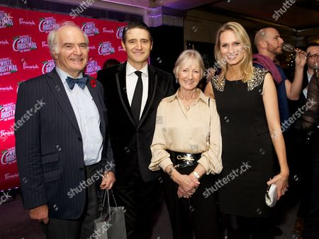 Stock Picture of Stuart & Rosemay (Tom Chambers' parents) with Tom Chambers & Clare Harding (wife)