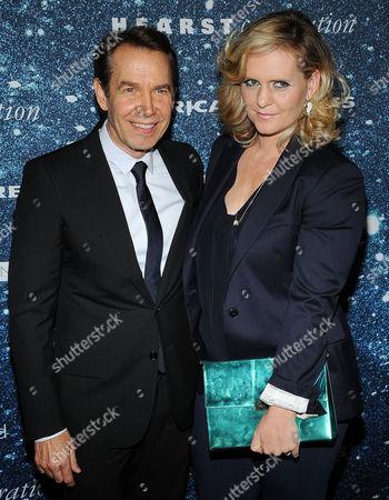 Jeff Koons and Justine Wheeler