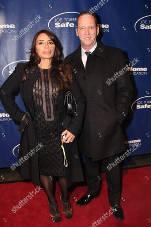 David Cone and guest (L)