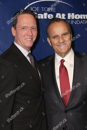 David Cone and Joe Torre