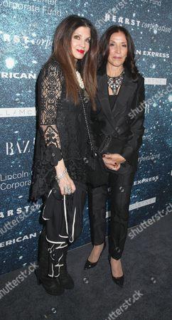 Loree Rodkin and Olivia Harrison