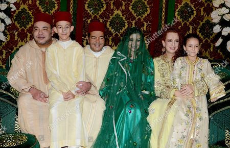 Editorial photo of Prince Moulay Rachid of Morocco and Lalla Oum Keltoum wedding at Rabat Royal Palace, Morocco - 13 Nov 2014