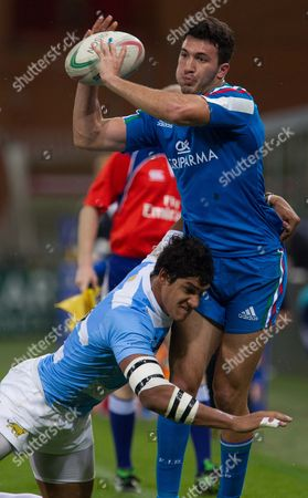 Editorial photo of Italy v Argentina, Autumn International, Rugby Union, Luigi Ferraris Stadium, Genoa, Italy - 14 Nov 2014