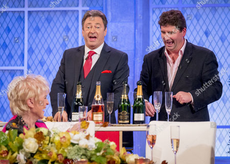 Alan Titchmarsh and Jasper Corbett