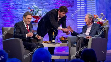 Stock Photo of Alan Titchmarsh, Jasper Corbett and Des O'Connor