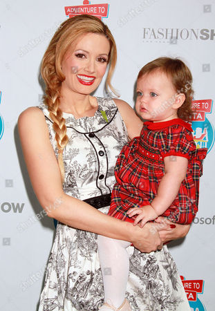 Stock Image of Holly Madison and Rainbow Rotella