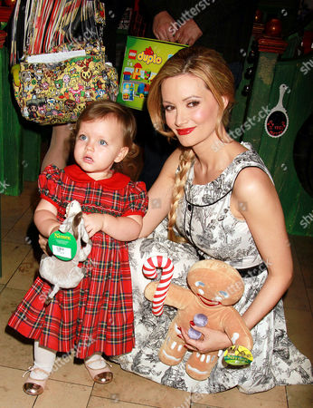 Stock Picture of Holly Madison and Rainbow Rotella