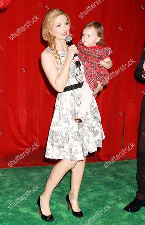 Stock Photo of Holly Madison and Rainbow Rotella