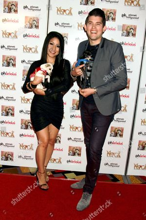Jasmine Trias and Ben Stone