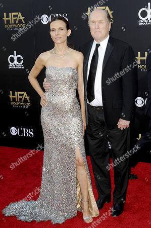Luciana Pedraza and Robert Duvall