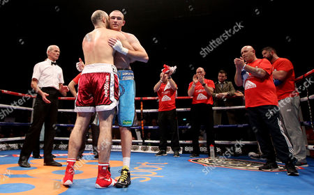 Editorial image of WBC Middleweight Title Eliminator, Three Arena, Dublin, Ireland - 15 Nov 2014