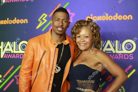 Nick Cannon and his mother Beth Gardner