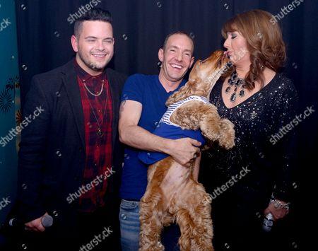 Paul Akister, Jeremy Joseph and Jane McDonald