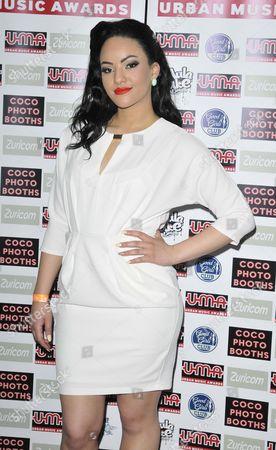 Editorial photo of Urban Music Awards, London, Britain - 15 Nov 2014
