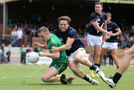 Ireland's Ross Munnelly and Cameron Lockwood of VFL Selection