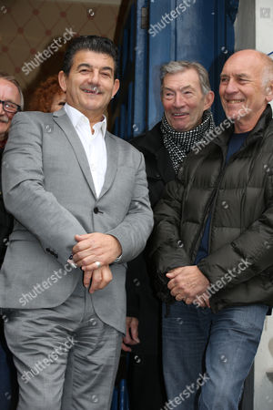 John Altman with Dave Berry and The Who's manager Bill Curbishley