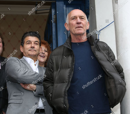 John Altman and The Who's manager Bill Curbishley