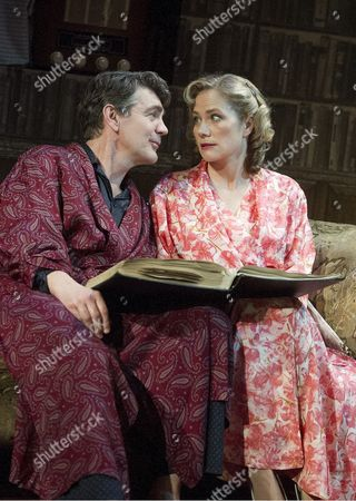 Stock Picture of Alexander Hanson as Will, Abigail Cruttenden as Rona