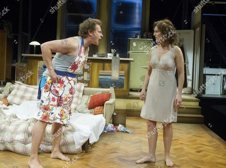 Neil Stuke as Johnny, Dervla Kirwan as Frankie