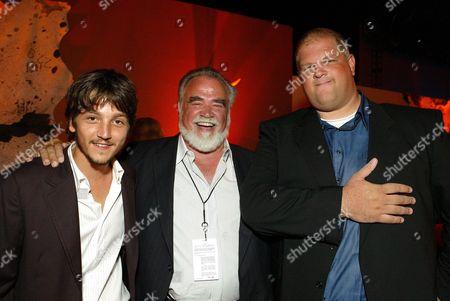 Diego Luna, Herb Kohler and Abraham Benrubi