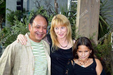 Cheech Marin and Patti Heid with Family