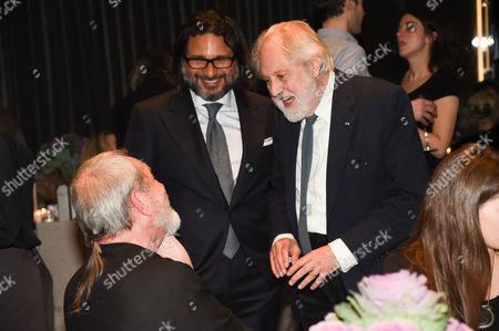 Terry Gilliam and Lord David Puttnam