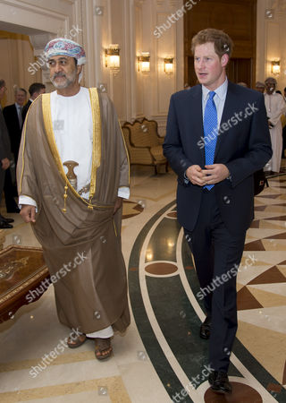 Prince Harry and His Highness Sayyid Haitham Bin Tariq Al Said