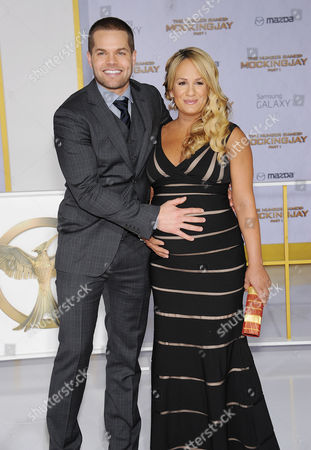 Wes Chatham and Jenn Brown