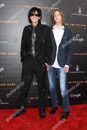 Ric Ocasek and Oliver Orion Ocasek