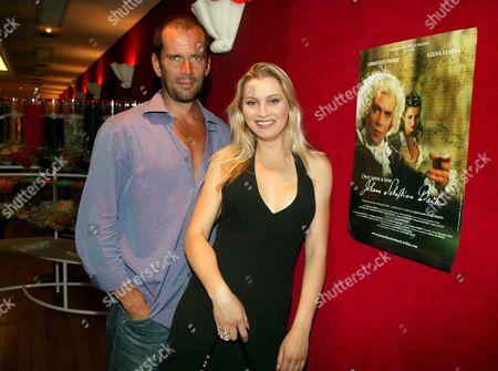 Christian Vadim and Elena Lenina