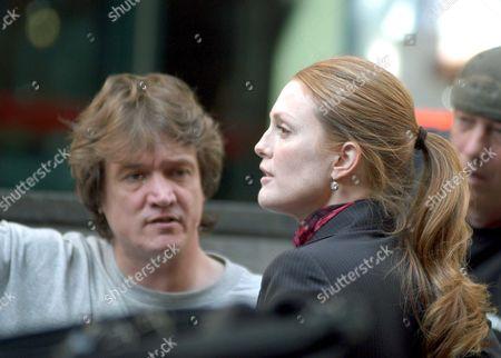 Peter Howitt with Julianne Moore