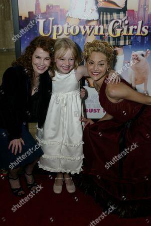 Stock Photo of Allison Jacobs, Dakota Fanning and Brittany Murphy