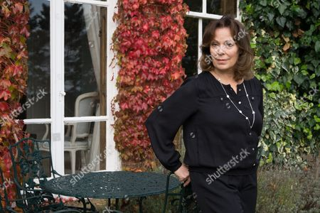 Editorial picture of Rose Tremain at home in Thorpe St Andrew, Norwich, Norfolk, Britain - 15 Oct 2014