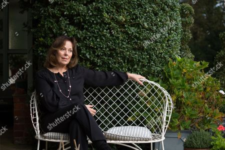 Editorial photo of Rose Tremain at home in Thorpe St Andrew, Norwich, Norfolk, Britain - 15 Oct 2014