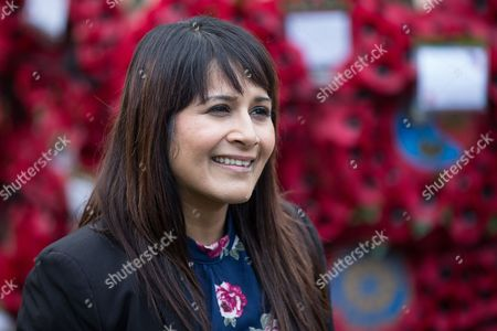 Naushabah Khan (Labour candidate) on High Street, Rochester