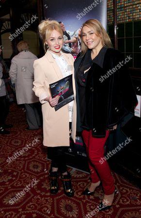 Jorgie Porter and Nicole Barber-Lane