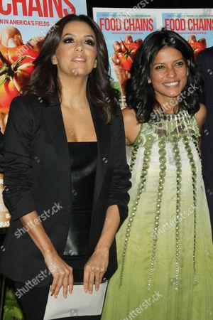 Eva Longoria and Smriti Keshari