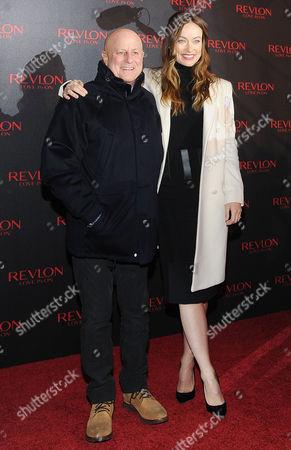 Ron Perelman, Olivia Wilde